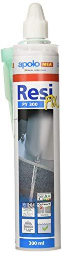 Apolo Mea 300Cr - Taco Químico Poliester 300 Ml Tipo Resifix Py 300, 1 Cánula, 1 Unidad