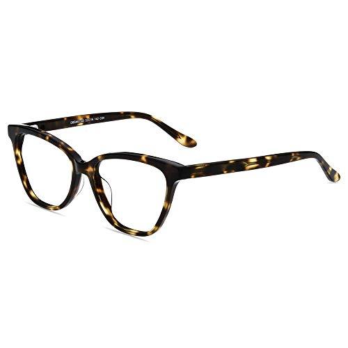 Firmoo Gafas de Lectura 1.0 para Mujer Ojos de Gato, Filtro de Luz Azul, Gafas de Ayuda para Lectura de Computadora, Gafas anti Luz Azul, Gafas con Bisagras de Resorte