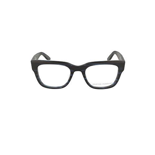 Barton Perreira Luxury Fashion Damen STAXMMI Blau Metall Brille   Jahreszeit Permanent