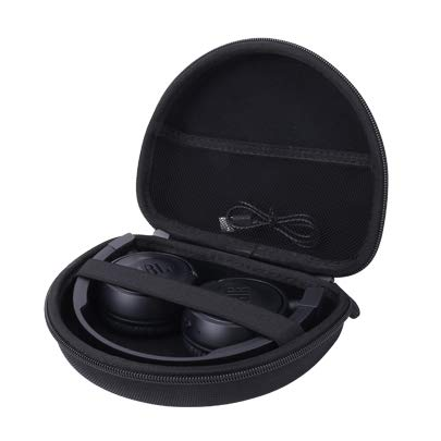 Aenllosi Hard Carrying Case for JBL Harman T450/T450BT On-Ear Lightweight Foldable Headphones (Black)