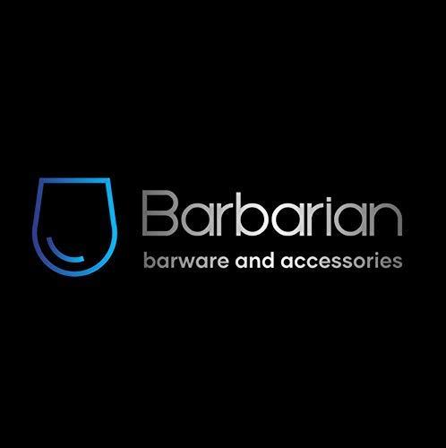 Barbarian 4 Botella Óptica para bebidas alcohólicas Bar Butler 30ml Shot