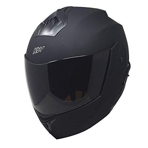 Casco De Moto Cafe Racer  marca Kov Stealth
