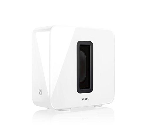 SONOS SUB Wireless Subwoofer, Gloss White
