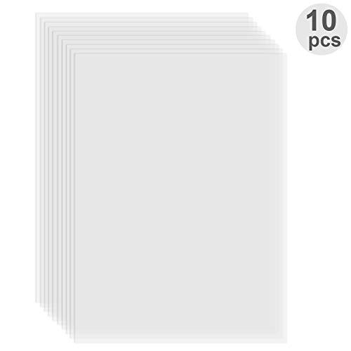 Aibecy FEP Film Transparant Release Film Sheet 280 * 200m Dikte 0.1mm Hoge Zendingssterkte Compatibel met Wanhao D8 D7 DLP Photon SLA UV Resin 3D Printer, 1pc 10pcs