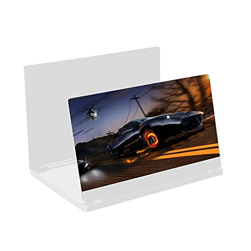 Bildschirmlupe 12 Zoll (30,5 cm), Handy-Bildschirmvergrößerung, Augenschutz, Blu-Ray Lupe – Handy-Bildschirmlupe, faltbar, Technologie zur Vergrößerung von Filmen