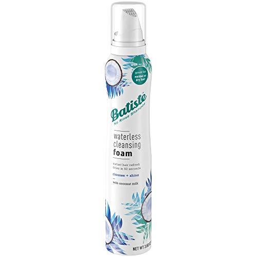 Batiste Waterless Cleansing Foam Cleanse + Shine