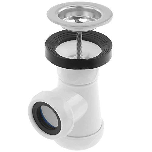 PrimeMatik - Uitschuifbare sifon voor korte flessen met klep voor bidet 1