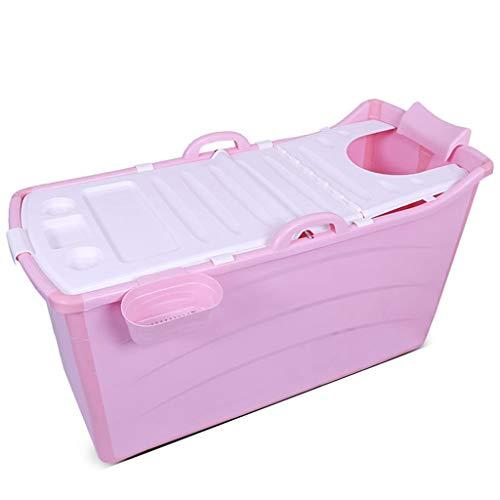 Folding badkuip, draagbare bad, opblaasbaar bad, kinderbad, plastic, met deksel,A