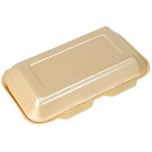 50Kebap Fisch & Chip boxes- Gold–(H7X D16x 25)