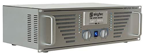 Skytec XXL PRO PA-Verstärker PA1000 (SpeakOn, 6,3mm) 1000W RMS