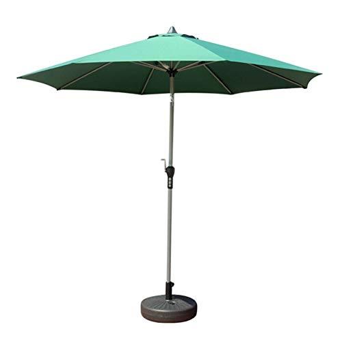 SQL Playa al Aire Libre Camping Pesca Paraguas Plegado Protección Solar Anti UV Sombrilla Paraguas Impermeable Toldo Lluvia Paraguas (Color : Green)