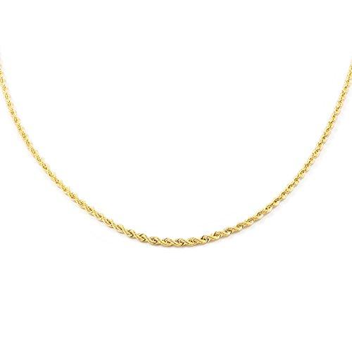 Cadena Oro Cordón salomonico (40 cm)