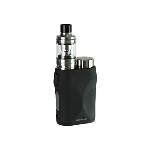 Eleaf Istick Kit 75W Pico, Eleaf iStick Pico X con Sigaretta Elettronica Melo 4-Niente Nicotina e Tabacco (Nero)