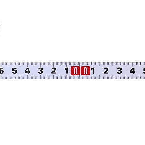 Zchui Metro a Nastro Autoadesivo, Troncatrice Nastro Adesivo metrico Acciaio Righello   Resistente, Buona Tenacità - per Cucire Portatile di Distanza dei Righelli Metrici di Falegnameria