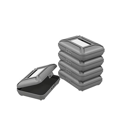 5 Bay 3.5 inch HDD Protection Box/Storage Case for Hard Drive Disk Protector Box with Free Lable Papers - 5PCS/LOT(PHX-35)