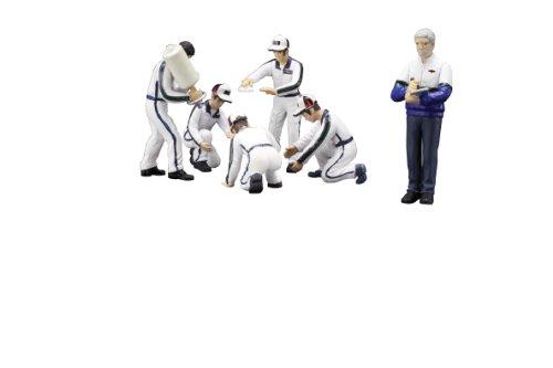 Dickie de Schuco 413319013 – True Scale – Set Coffret équipe 1 : 43 avec 6 Figurines