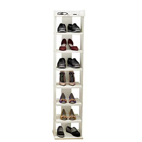 QQXX schoenenrek houten plank pantoffels plant staan 30 cm breed wit voor hal woonkamer slaapkamer Corridor30X30X80cm k2 K2