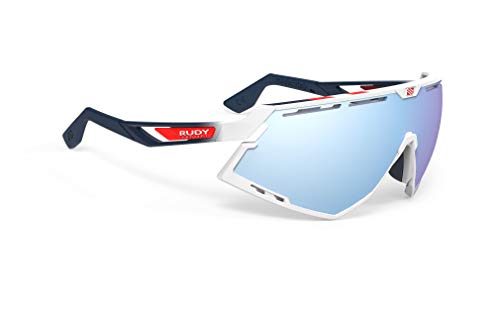 Rudy Project Occhiali Defender RP Optics (White Gloss-Fade Blue)