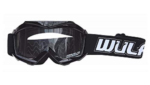 Wulfsport - Gafas de motocross para niños, motocicleta, quad, todoterreno, ATV, BMX, Dirt Pit Bike Racing, protección para niños, Cub Junior MX