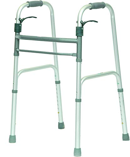 ProBasics Junior Folding Walker for Seniors - Sure Lever Release Folding Walker, for Petite Adults