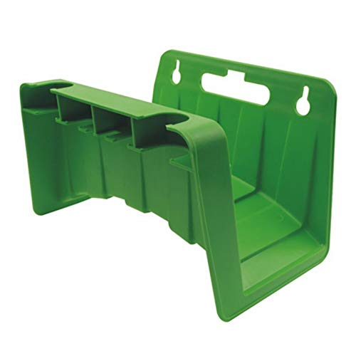 jidan The Hose Pipe Holder is Made Durable Sturdy and Portable Green Wall Mounted Garden Hose Pipe Hanger Holder Storage Bracket Shed Fence Cable Pipe Rack Bracket Shelf Accessories (Color : 6)