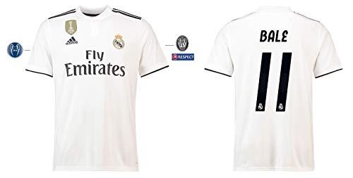 Real Madrid Trikot Kinder 2018-2019 Home UCL - Bale 11 (164)
