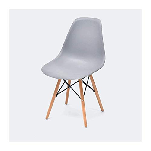 Bar Chair,Minimalist Leisure Chair Casual Living Room Backrest Chair with Pu Leather Cushion Wooden Chair for Hotel Home Cafe Restaurant Bar Chairs for Lounge for Kitchen Living Room Bedroom