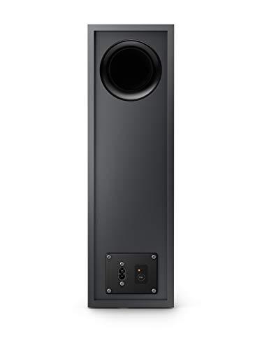 Philips Audio TAB6305/10 Soundbar Bluetooth mit Subwoofer kabellos (2.1 Kanäle, 140 W Ausgangsleistung, Dolby Audio, HDMI ARC, Schlankes Design inklusive Wandhalterung) Schwarz - 2020/2021 Modell