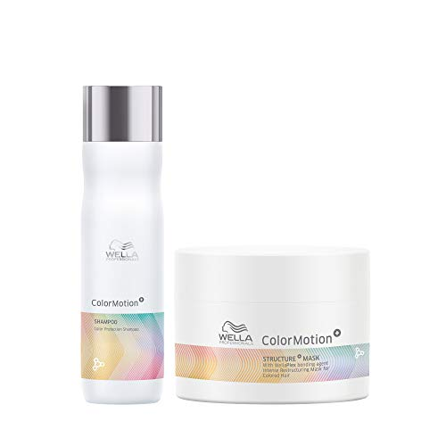 Wella Professionals Wella Professionals ColorMotion+ Color Protection Shampoo 250ml and Structure+ Mask 150ml duo, 2 Pieces