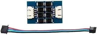 TL-Smoother V1.2 Filtro de filtro de motor Eliminador de vibración con cable de conexión para piezas de la impresora 3D del controlador - Azul