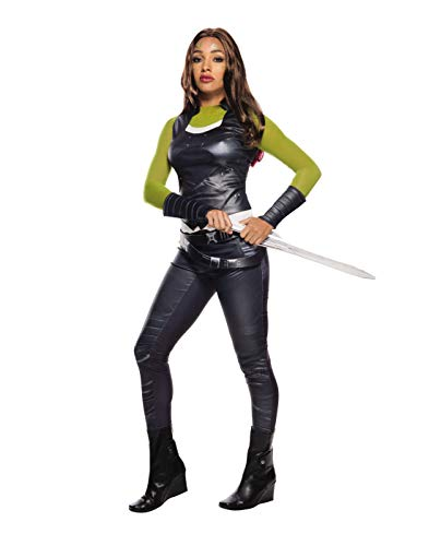 Secret Wishes Women's Guardians of the Galaxy Gamora Costume, Black, Adult Small 4-6