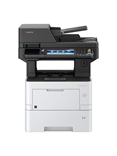 Kyocera Klimaschutz-System Ecosys M3645idn 4-in-1 Multifunktionsdrucker. 3 Jahre Kyocera Life vor Ort Garantie. Schwarz-Weiß, Duplex-Einheit, 45 Seiten pro Minute mit Mobile-Print-Funktion