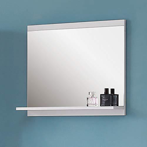 Wandspiegel mit Ablage Badezimmerspiegel Spiegel Badspiegel Weiß