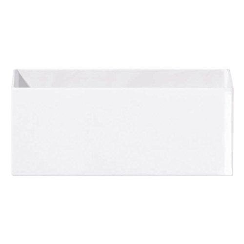 ASA - Vaso per Fiori, in Ceramica, Bianco, 30 x 12 x 12 cm