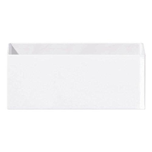 ASA Blumenvase, Keramik, weiß, 30x12x12 cm