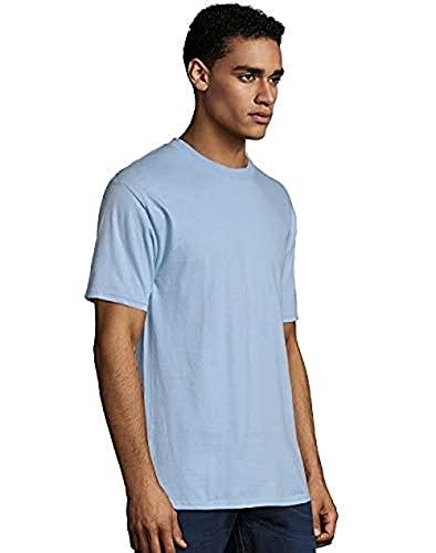 Hanes Men's Short Sleeve Shirt, Lime Green, X Large