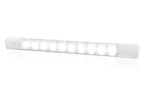 HELLA 2JA 980 879-011 Éclairage intérieur - LED - 12V - LED - Montage en saillie - Couleur LED: blanc