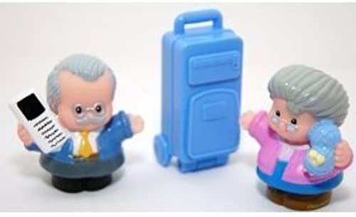 Fisher Price Little People Traveling Gründparents by Little People
