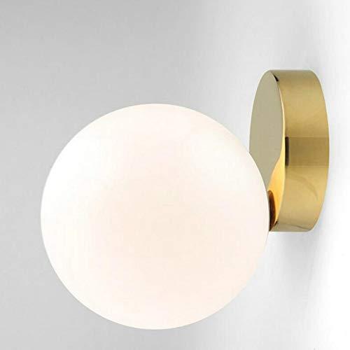 Goeco Plafoniera Lampada da parete Creative Art Ball Cerchio chiaro adatto per studio, vialetto, guardaroba