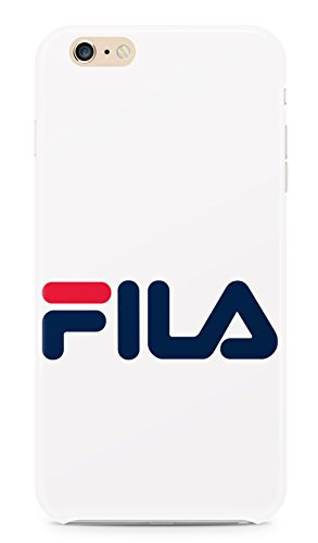 Cover in plastica rigida con logo Fila, compatibile con Apple iPhone