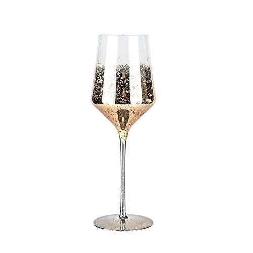 Yuansr Borgoña, Cristal de Ni-Lead, Copa Starry Sky, STEMMED CLÁSICO, Lavavajillas Caja Fuerte, Conjunto de Regalo de Copa de Vino Tinto de Calidad Profesional (Size : Style 3)
