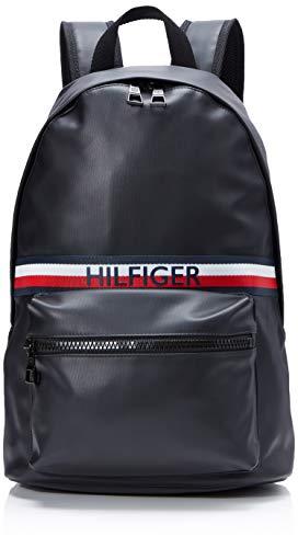 Tommy Hilfiger Urban Pu Backpack schoudertas, zwart (zwart), 0,1 x 0,1 x 0,1 centimeter