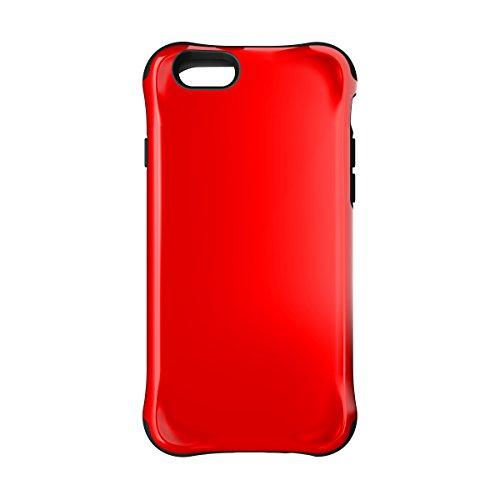 BALLISTIC Urbanite Series Case for Apple iPhone 6 / iPhone 6s - Retail Packaging - Red/Black