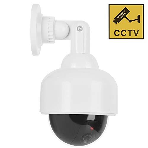Dummy camera met ledlicht, professionele realistische dome-bewakingscamera's, wandhouder, voor binnen en buiten