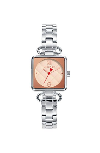Viceroy Damen Analog Quarz Uhr mit Edelstahl Armband 471124-93