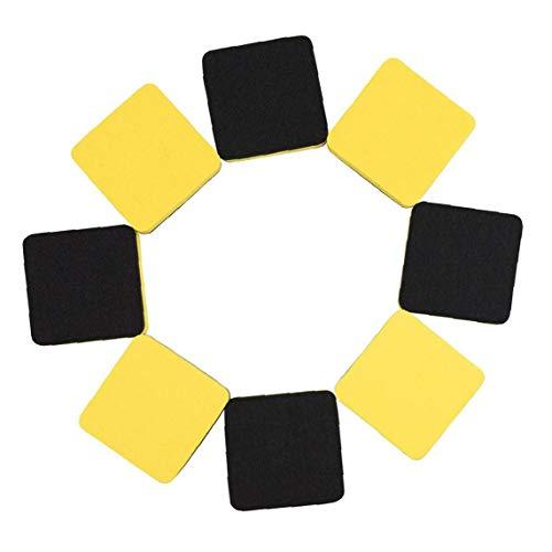 JPXyDfxn Magnettafel Radiergummi Dry-radiergummi Tafel Filzboden Für Den Unterricht Home Office Supplies 20pcs Yellowdry Radiergummi Whiteboard Radiergummi Tafel