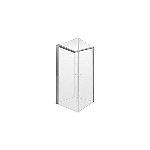 Duravit OpenSpace–Duschwand Duschtasse 90x 90griferia links transparent/Spiegel