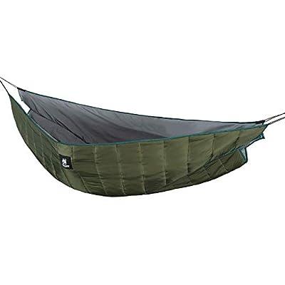 OneTigris Shield Cradle Double Hammock Underquilt, Hammock Camping Essentials (Winter)