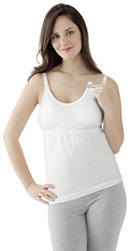 Medela! Damen Unterhemd Gr. L, weiß