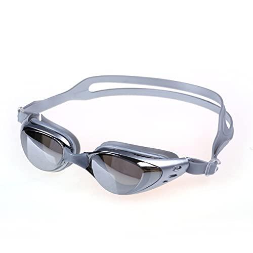 LIMESI Polarizado Gafas de Natación Unisex Anti Niebla Anti-UV sin Fugas Miopía Gafas Nadar Ergonómico Ajustables para Adultos y Adolescentes Miopes-2.5
